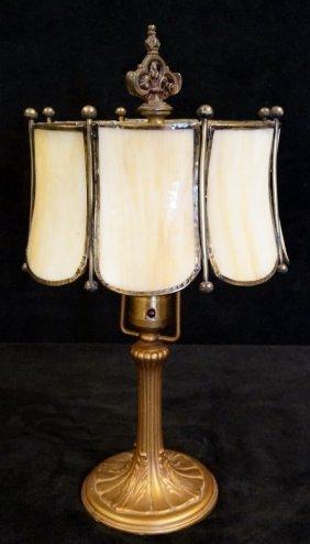 Art Nouveau Boudoir Lamp (handel Base)