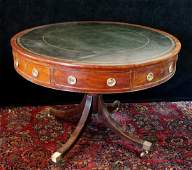 REGENCY LEATHER TOP RENT TABLE