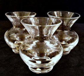 Group 3 Small Baccarat Vases