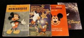 Lot 4 Disney Productions Merchandise Catalogues Inc.