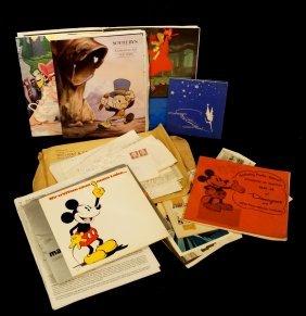 Group Disneyana Collector's Ephemera Inc. Catalogues &