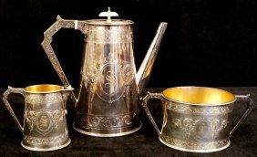 3 Pc. Elkington Tea Set