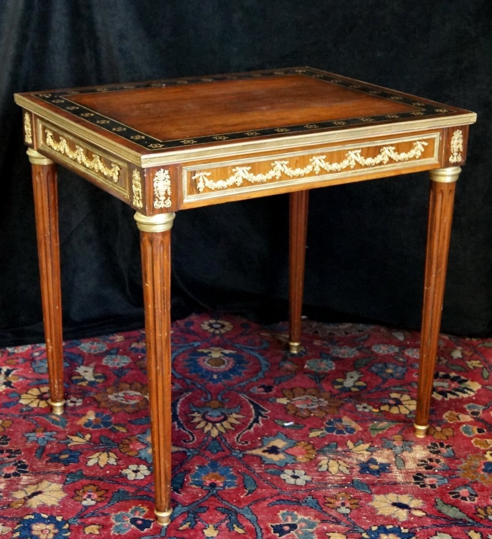LOUIS XVI STYLE ROSEWOOD SIDE TABLE