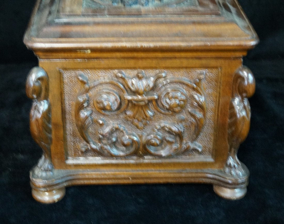 ORNATELY CARVED HUMIDOR - 4