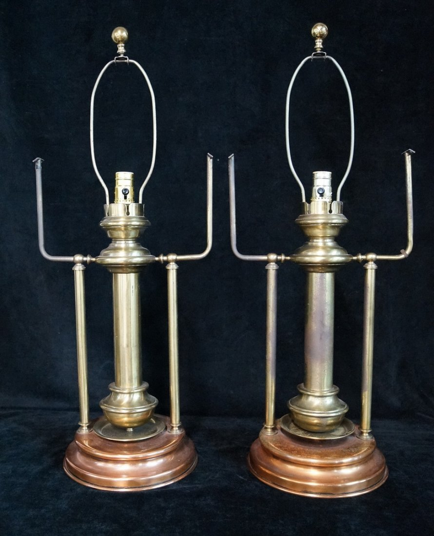 PR. BRASS & COPPER LAMPS