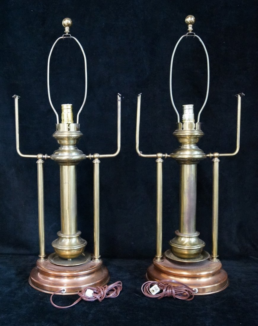 PR. BRASS & COPPER LAMPS - 4