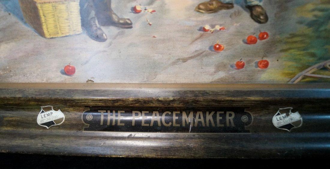 TIN SIGN FALSTAFF THE PEACEMAKER - 3