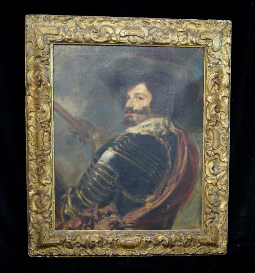 "O/C ""PORTRAIT AFTER DIEGO VELAZQUEZ""  BY FREDERICK"