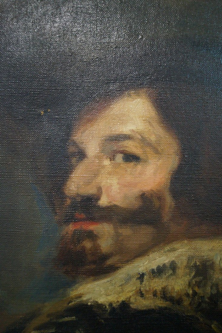 "O/C ""PORTRAIT AFTER DIEGO VELAZQUEZ""  BY FREDERICK - 2"