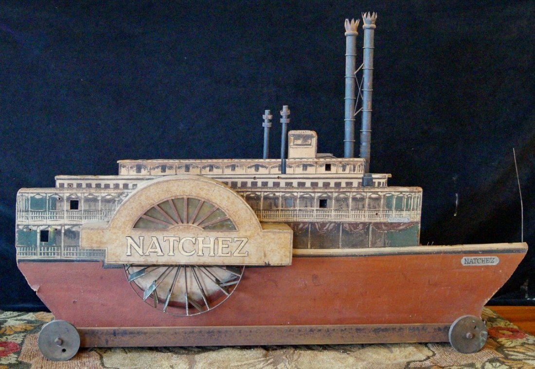 """NATCHEZ"" STEAM PADDLE WHEELER MODEL"