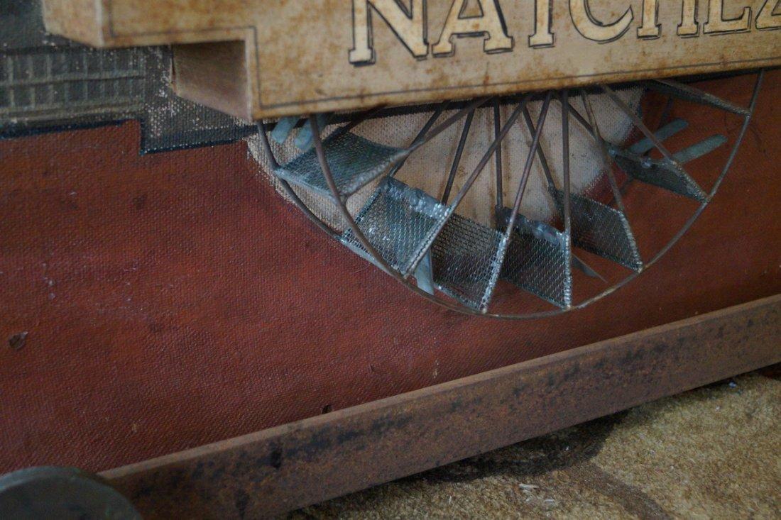 """NATCHEZ"" STEAM PADDLE WHEELER MODEL - 8"