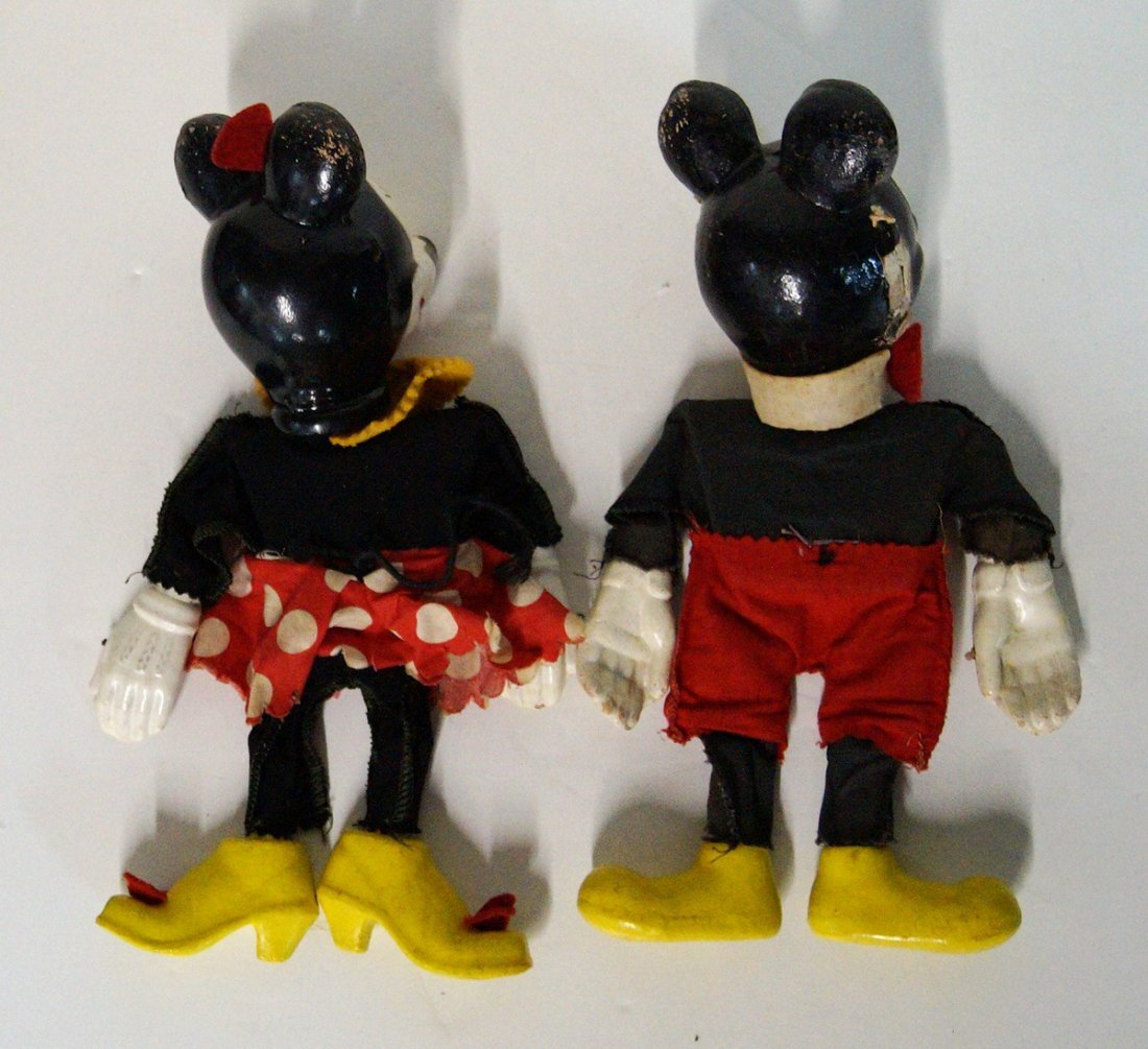 MICKEY AND MINNIE MARIONETTE PUPPETS - 2