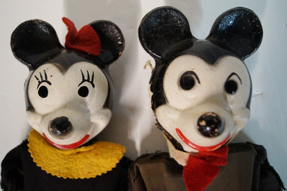 MICKEY AND MINNIE MARIONETTE PUPPETS - 5