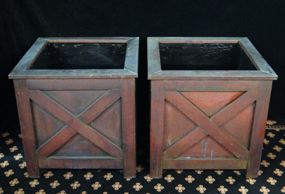 PR.  FRENCH STYLE PLANTERS - 2