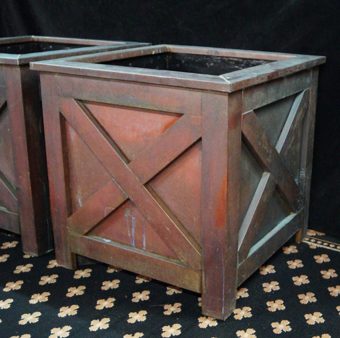 PR.  FRENCH STYLE PLANTERS - 3
