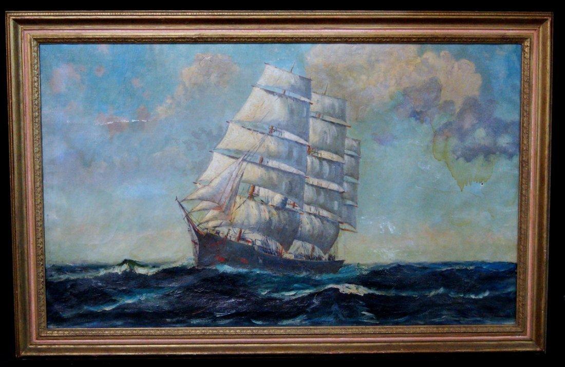 """O/C """"CLIPPER SHIP"""" SGN. PAZANT"""