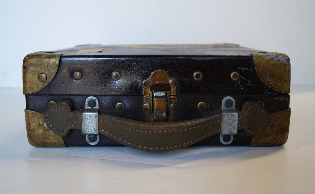 CRUVER & CO. U.S. MARITIME COMMISSION SEXTANT - 3