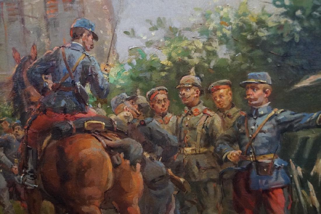 CHARLES BUNEL SGN. O/C FRANCO PRUSSIAN WAR - 3
