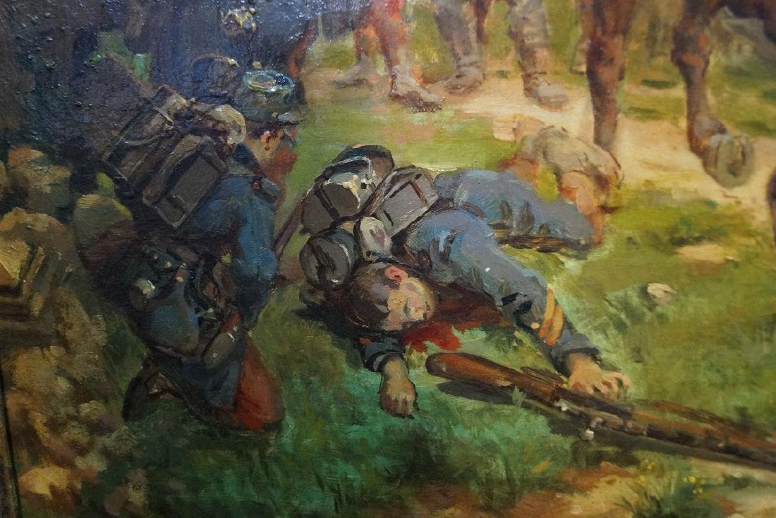 CHARLES BUNEL SGN. O/C FRANCO PRUSSIAN WAR - 4