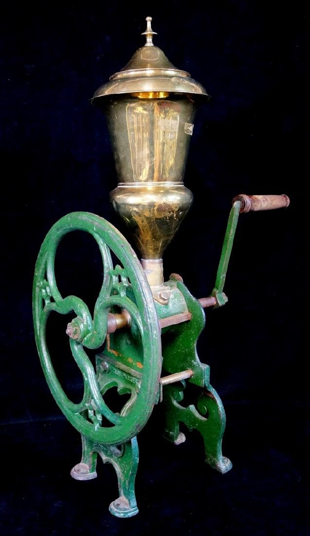 BRASS & IRON COFFEE GRINDER. ZACH PARKES - BIRMINGHAM