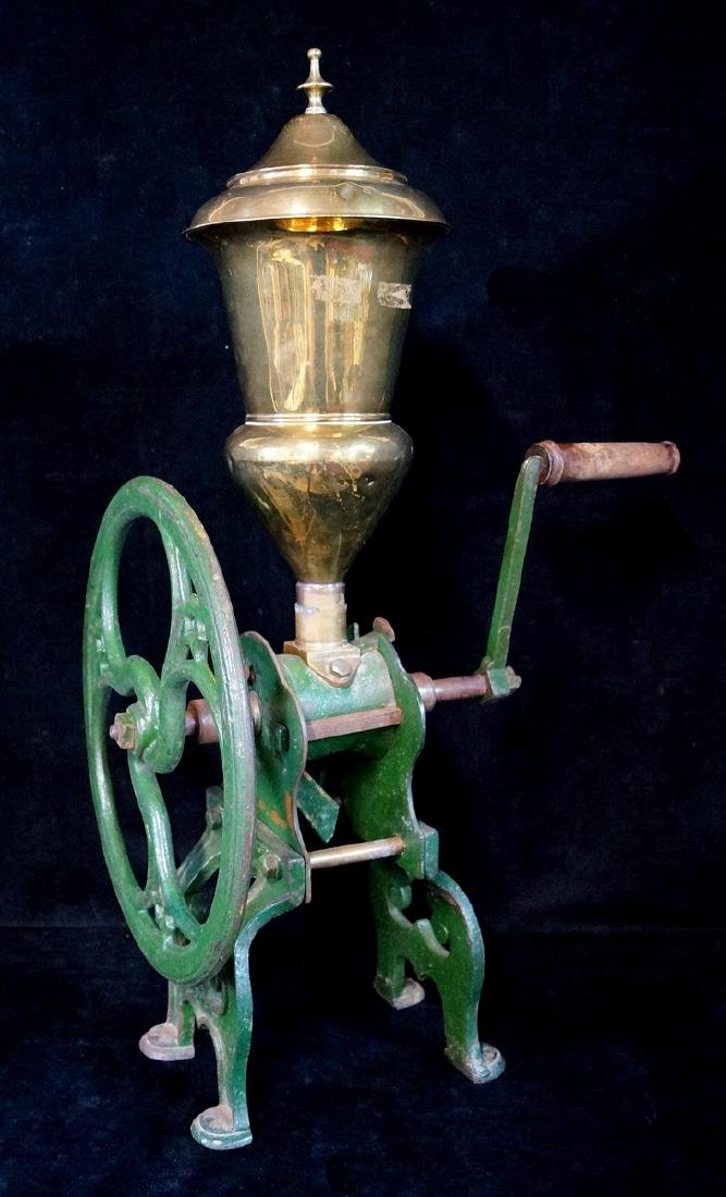 BRASS & IRON COFFEE GRINDER. ZACH PARKES - BIRMINGHAM - 2