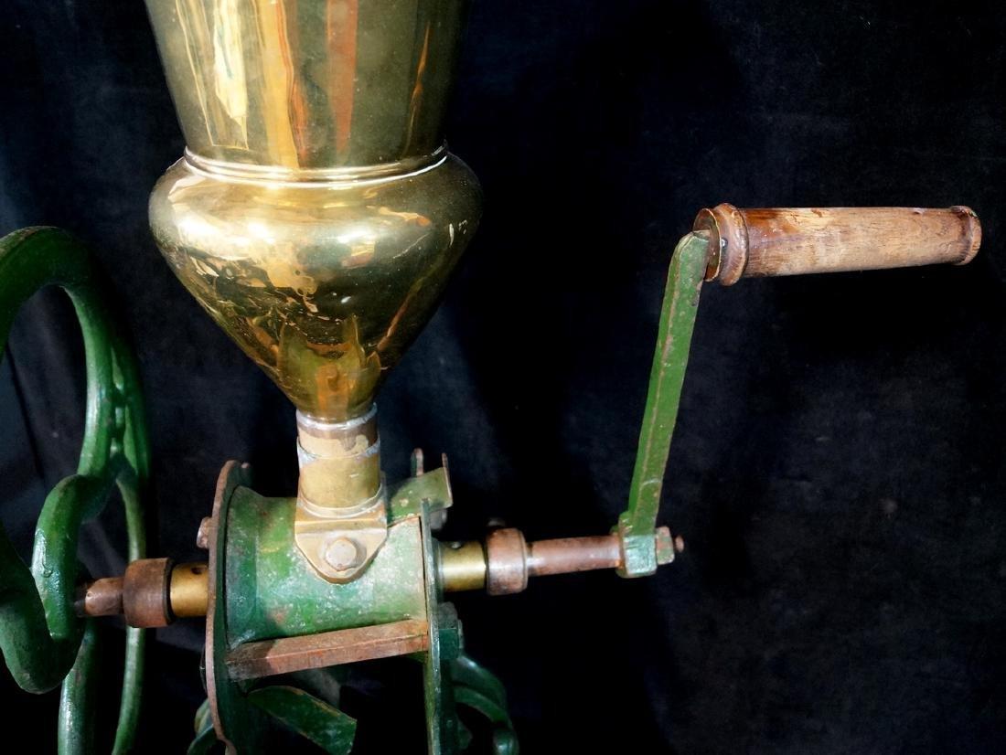 BRASS & IRON COFFEE GRINDER. ZACH PARKES - BIRMINGHAM - 6