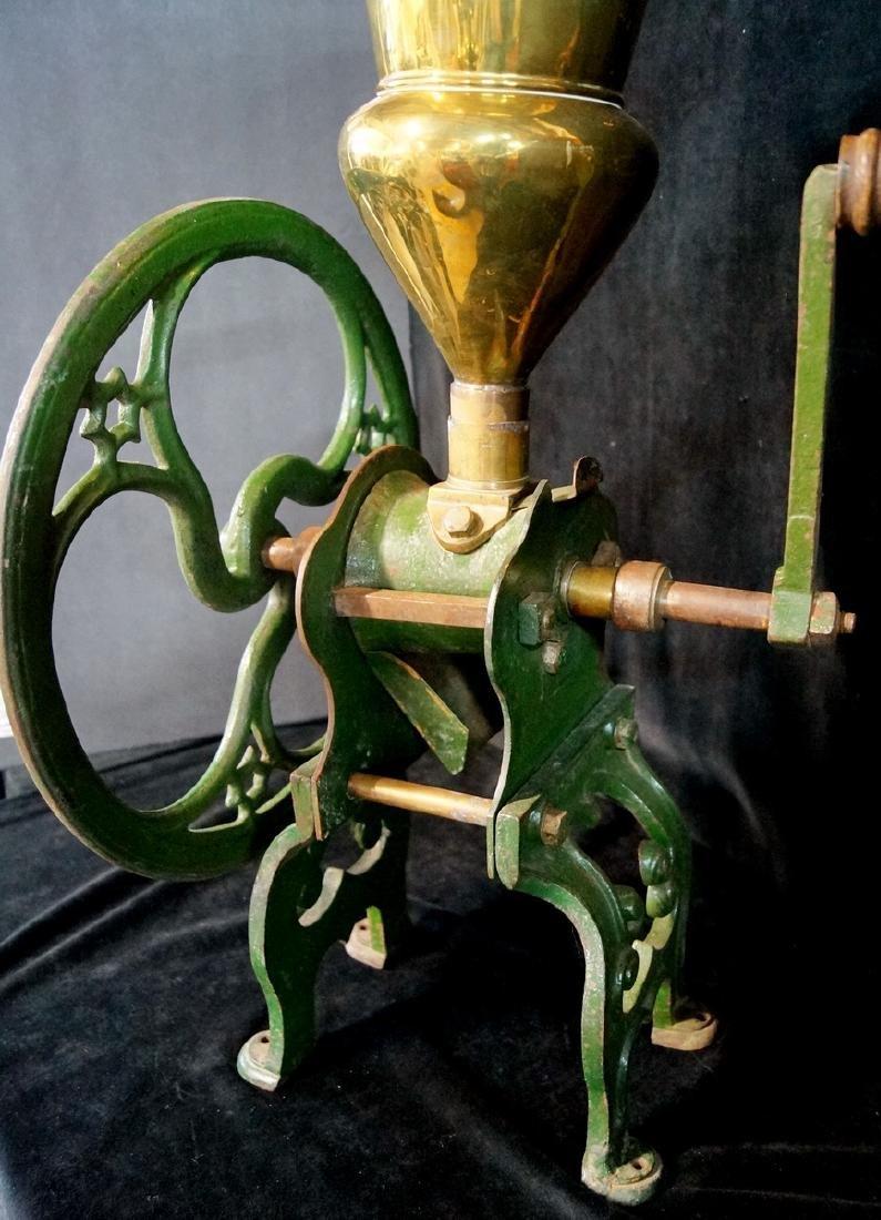 BRASS & IRON COFFEE GRINDER. ZACH PARKES - BIRMINGHAM - 8