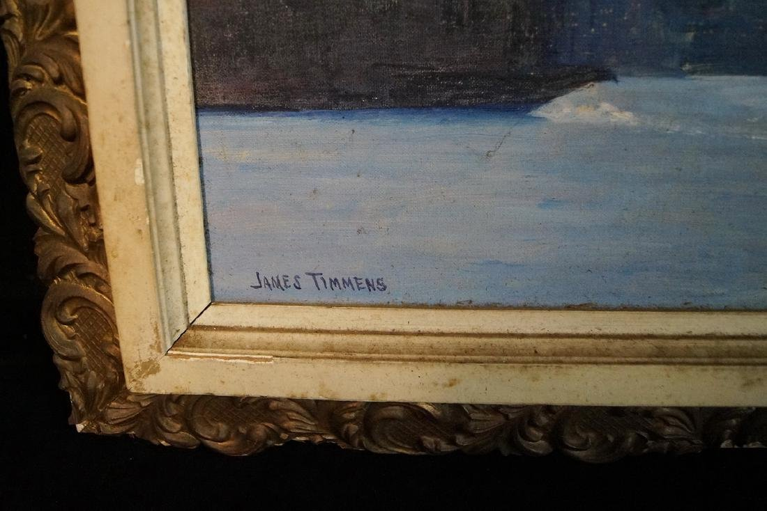 """JAMES TIMMENS SGN. O/B SKYLINE & PADDLE WHEELERS"""" - 2"""