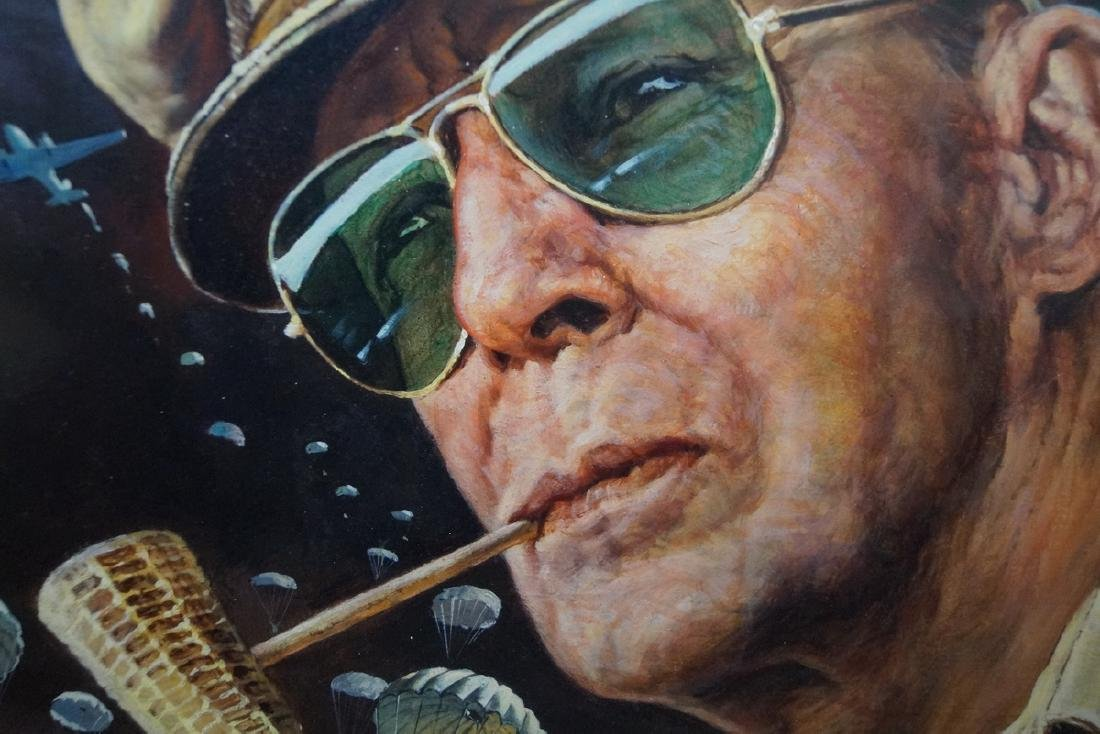 ILLUSTRATION ON BOARD GENERAL DOUGLAS MACARTHUR - 4