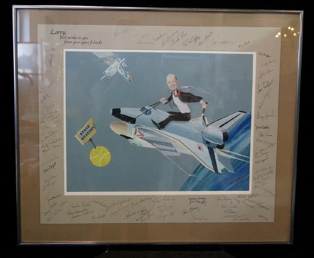 JIM KOO SGN. ILLUSTRATION FOR NASA ENGINEER LARRY MEAD