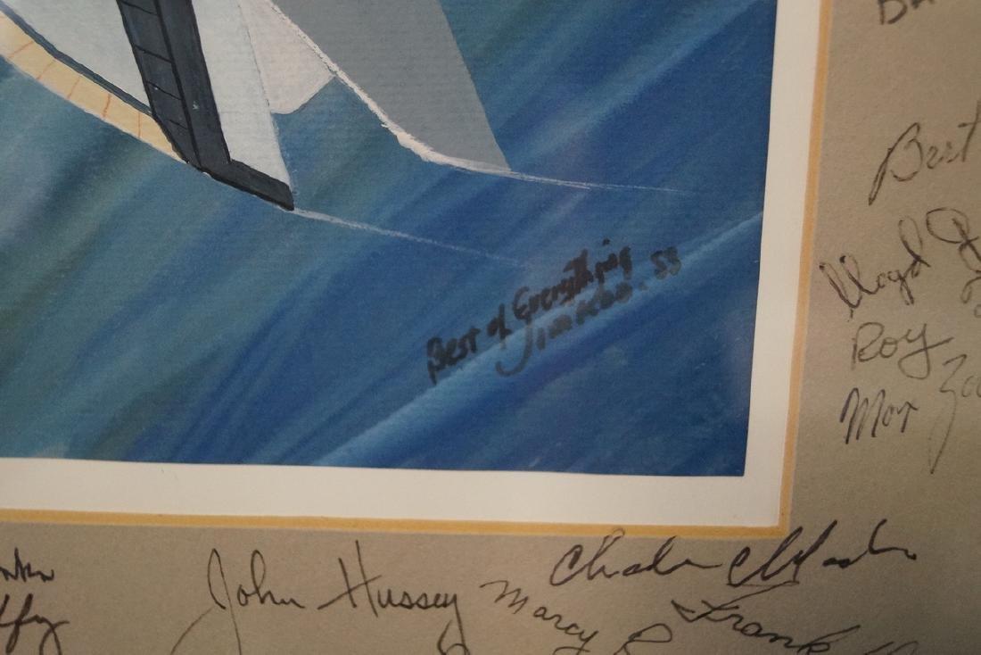 JIM KOO SGN. ILLUSTRATION FOR NASA ENGINEER LARRY MEAD - 2