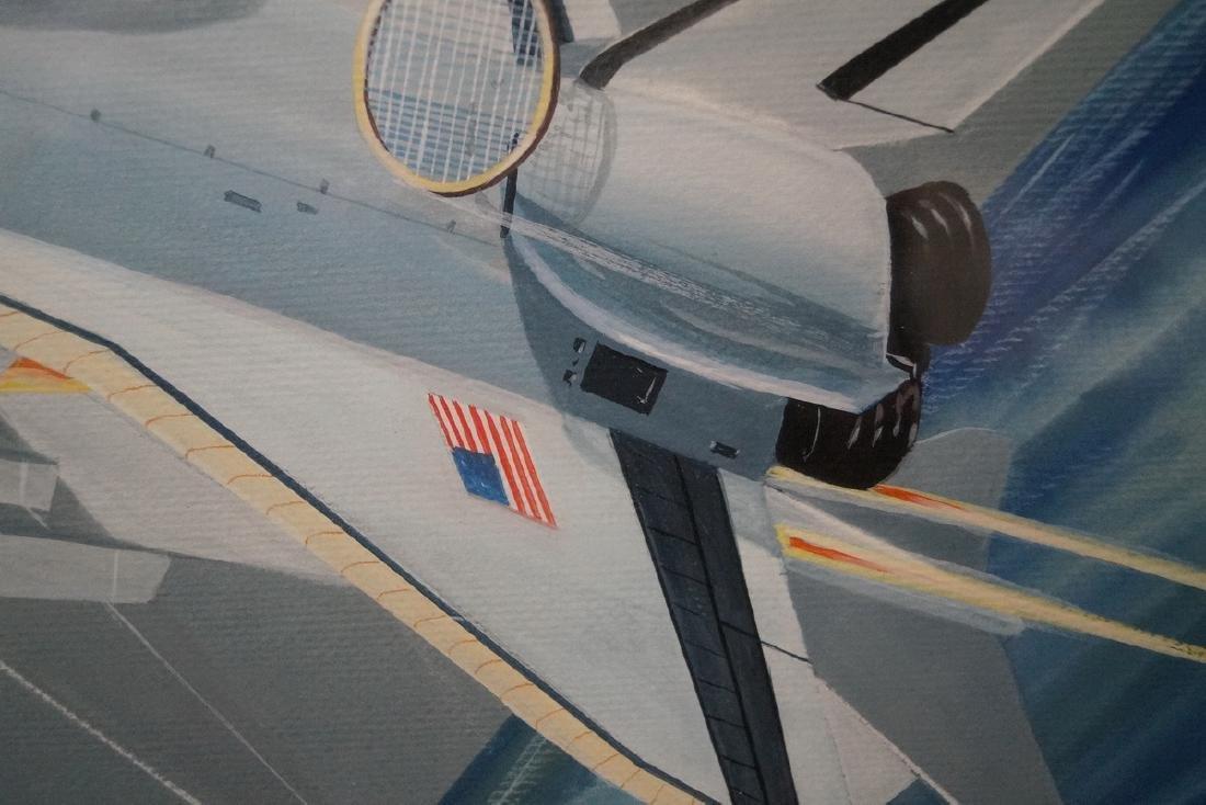 JIM KOO SGN. ILLUSTRATION FOR NASA ENGINEER LARRY MEAD - 3
