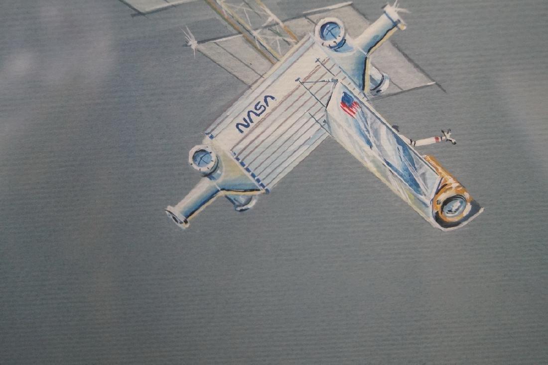 JIM KOO SGN. ILLUSTRATION FOR NASA ENGINEER LARRY MEAD - 5