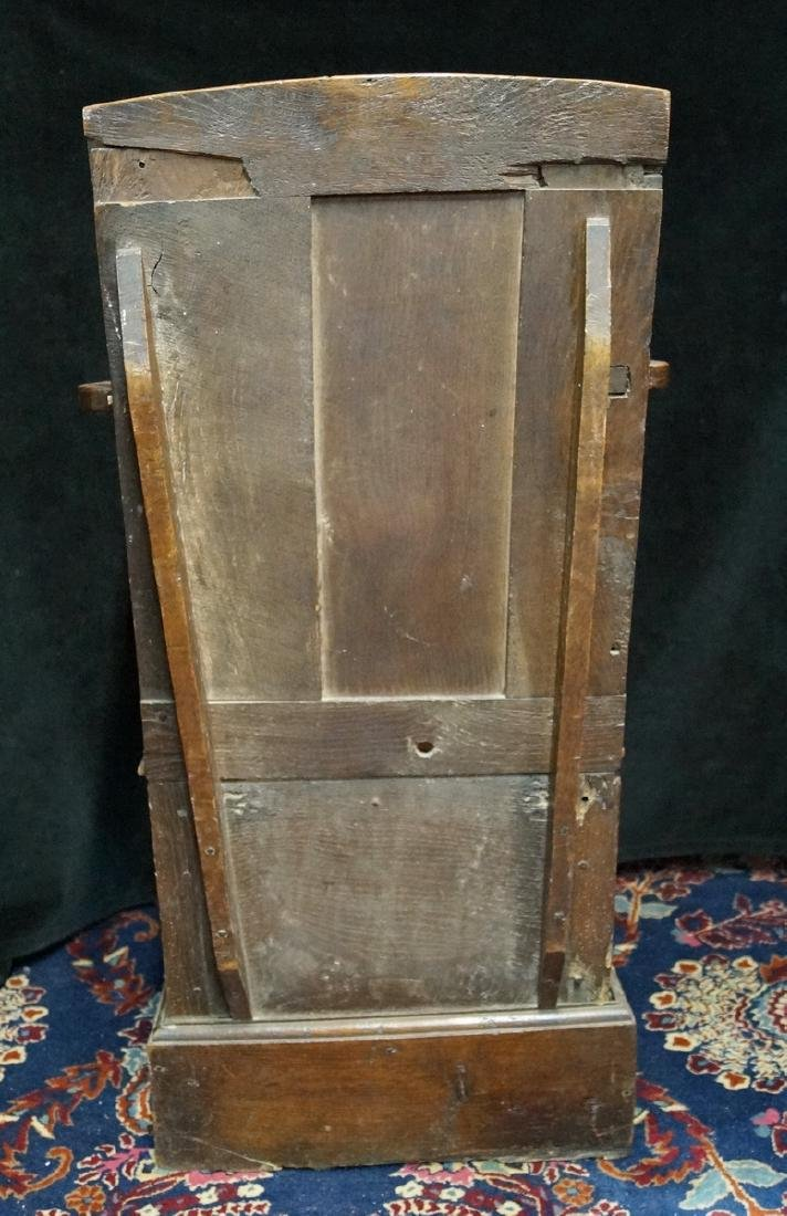 ANTIQUE MIXED WOODS POTTY/COMMODE - 6
