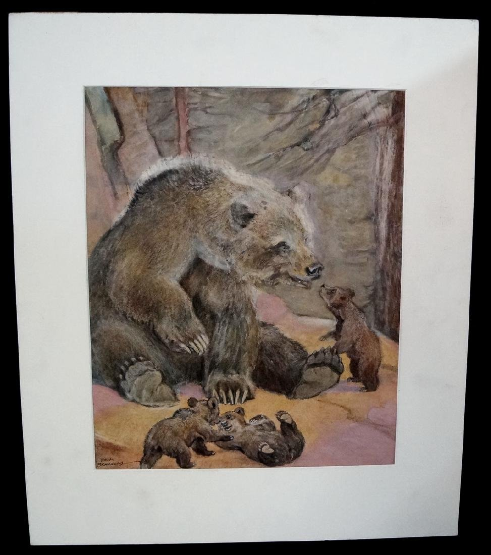 PAUL BRANSOM SIGNED ILLUSTRATION