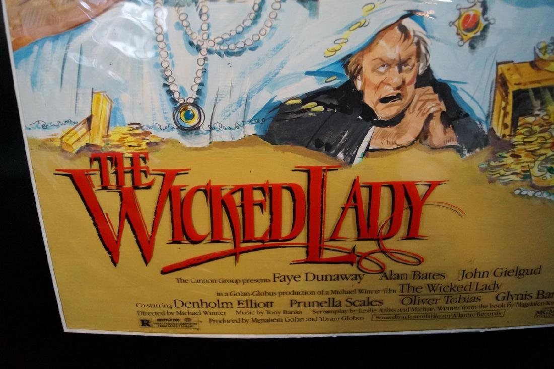 ILLUSTRATION THE WICKED LADY 1983 - 2