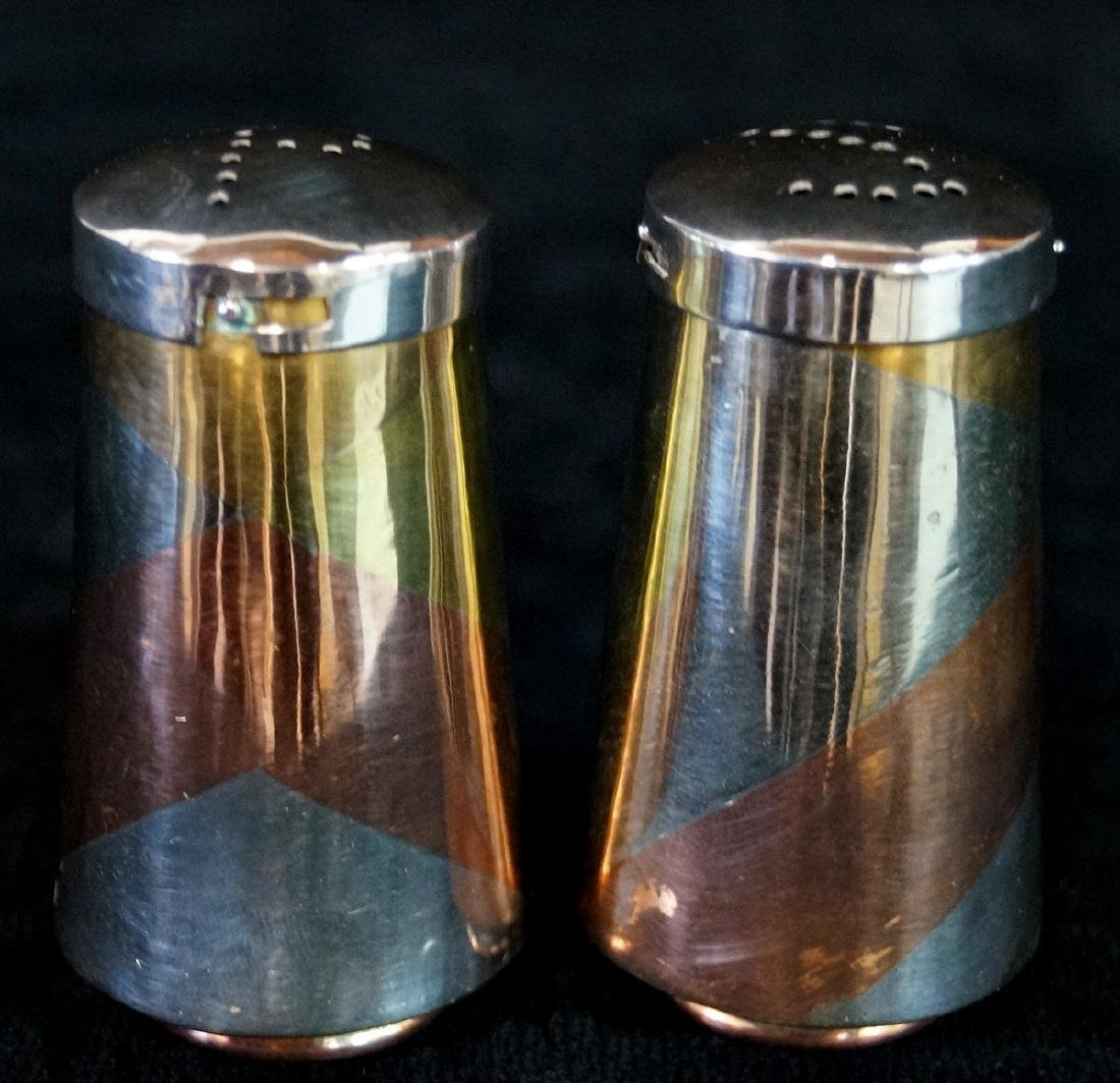 TAXCO MIXED METAL SALT & PEPPER C. 1950