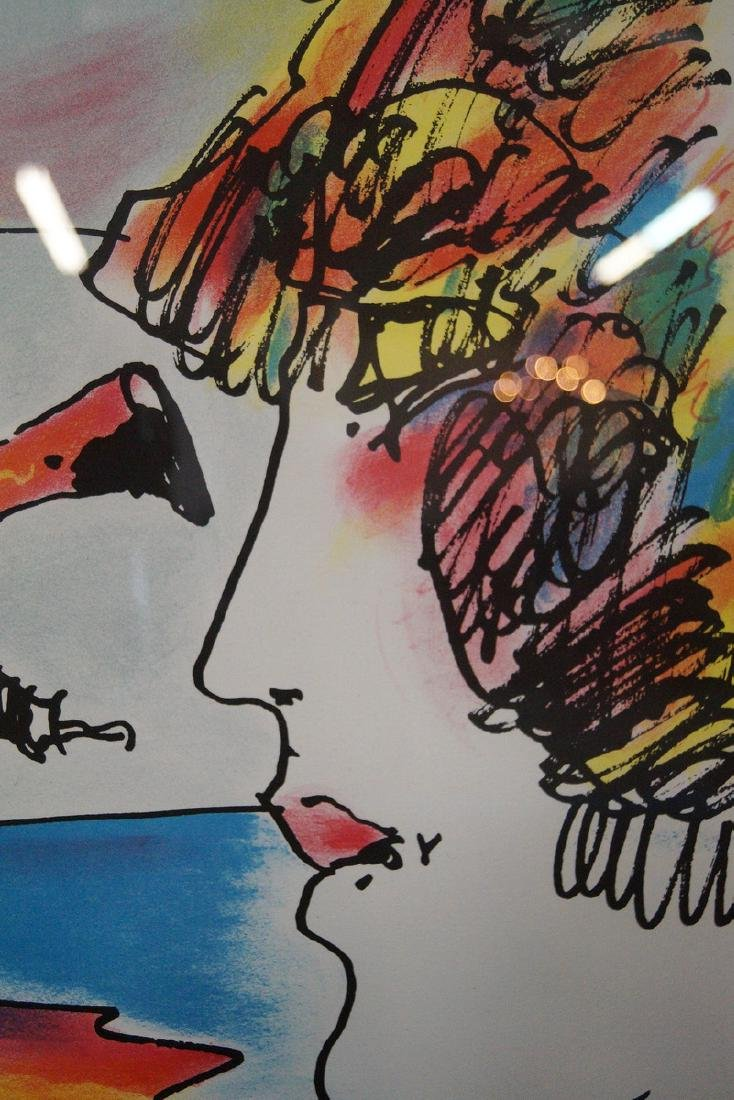 PETER MAX SGN. COLOR LITHOGRAPH - 4