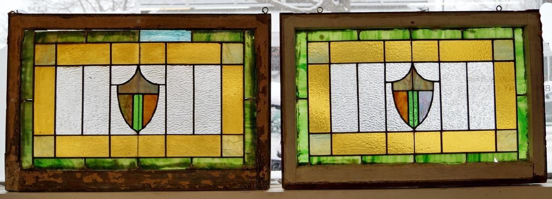 PR. LEADED STAIN GLASS WINDOWS