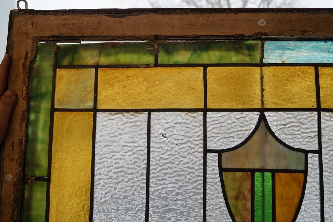 PR. LEADED STAIN GLASS WINDOWS - 3