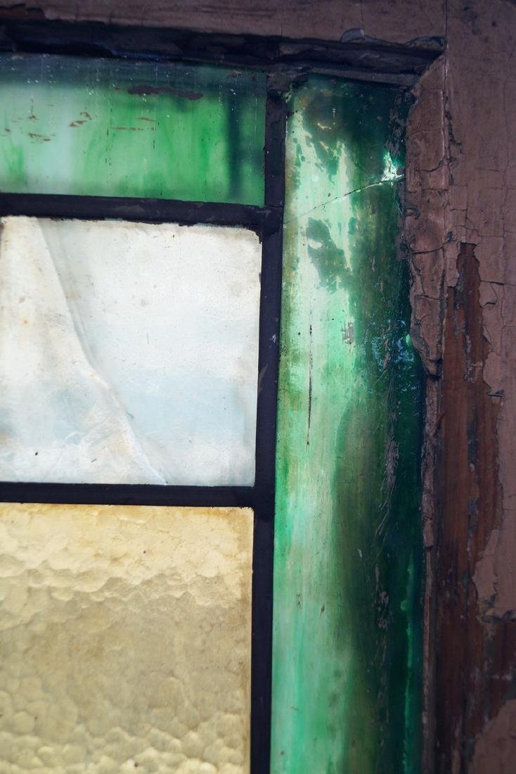 PR. LEADED STAIN GLASS WINDOWS - 4