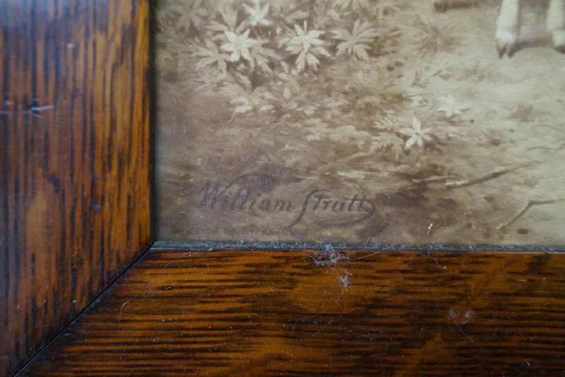 "WILLIAM STRUTT CHRYSTOLEUM PRINT ""PEACE"" - 2"