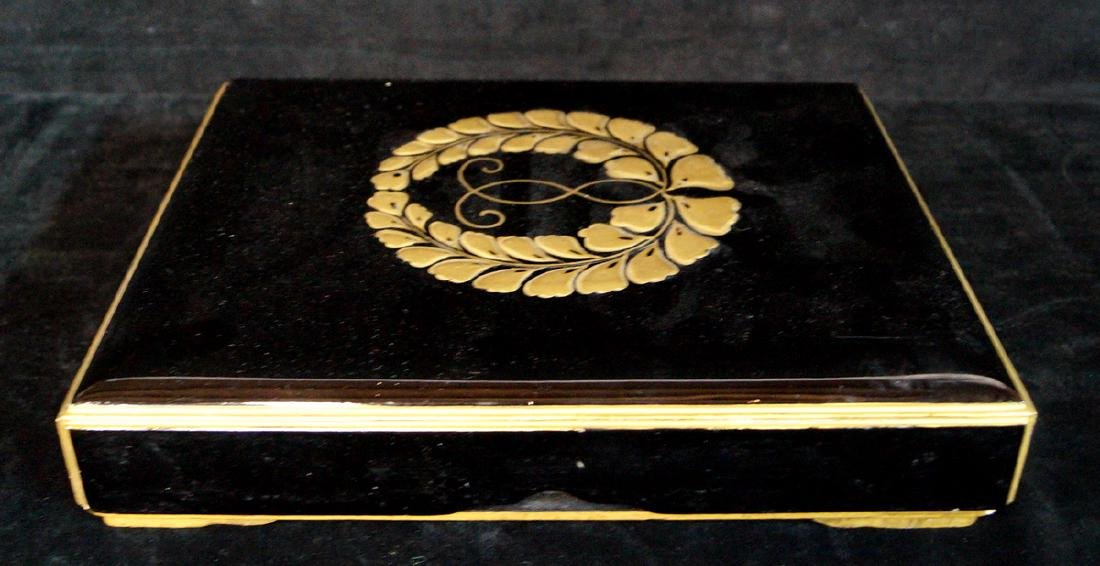 JAPANESE LACQUERED BOX - 2