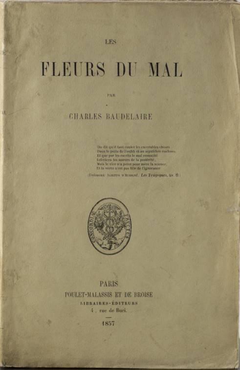 Baudelaire - Les fleurs du mal - first edition - rare