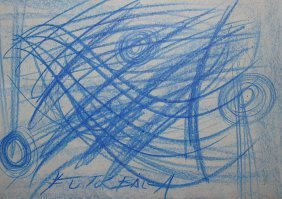 Giacomo Balla - drawing on paper