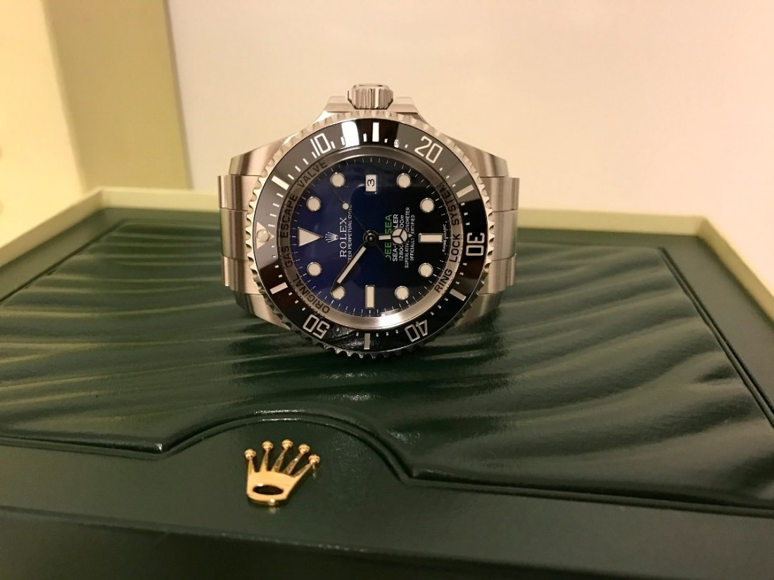 Rolex Deepsea James Cameron Deep-blue 44mm