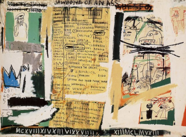 Basquiat - Jawbone Of An Ass / Print