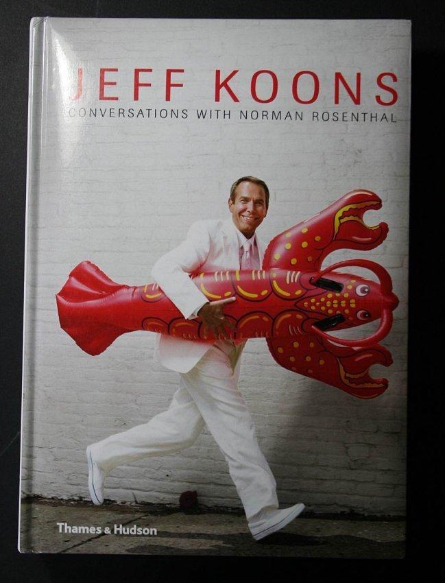 Jeff Koons - autographed book