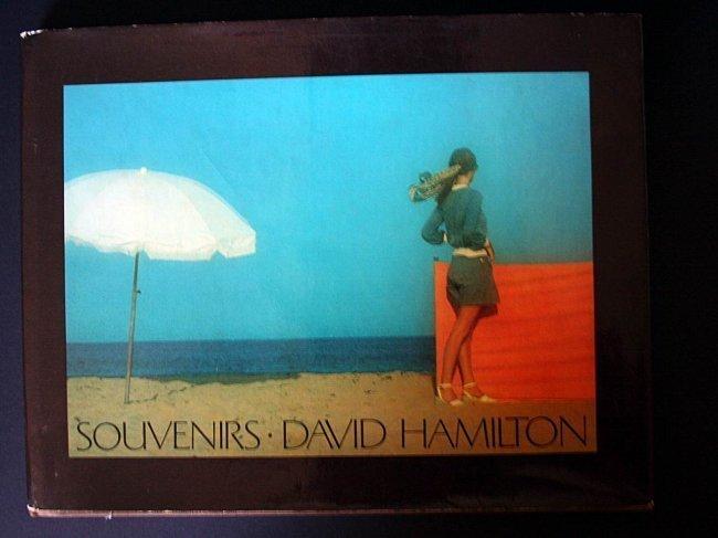 David Hamilton - Autographe book - rare edition