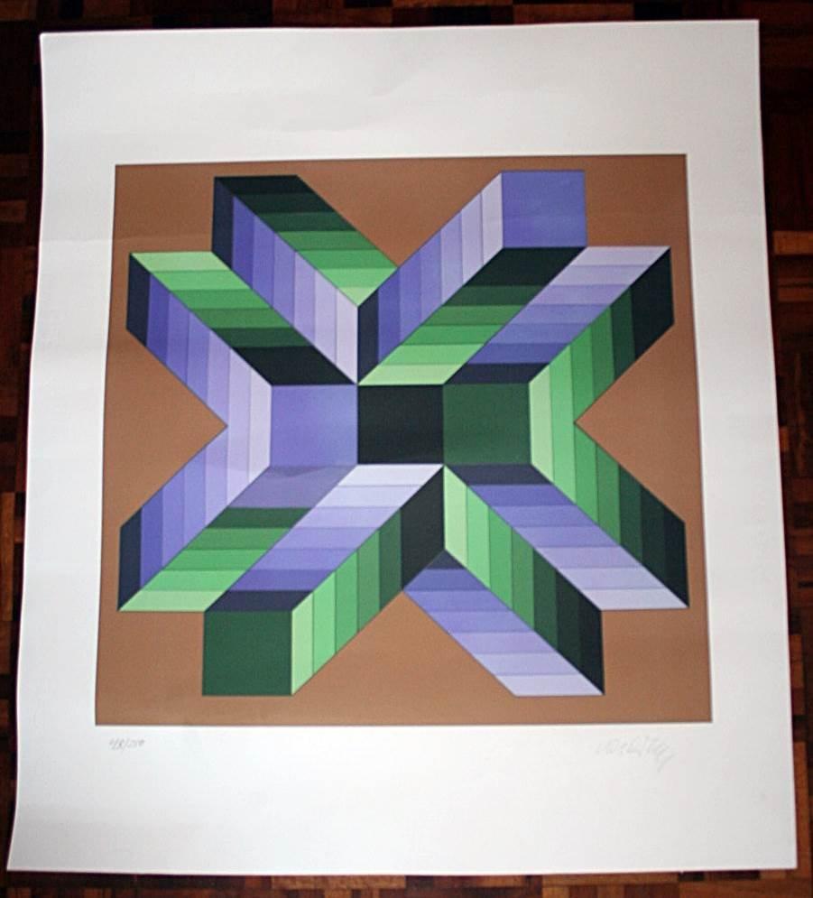 Victor Vasarely - MATA-FEM 1978 - 48/250